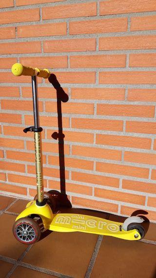 Patinete Mini Micro Deluxe amarillo