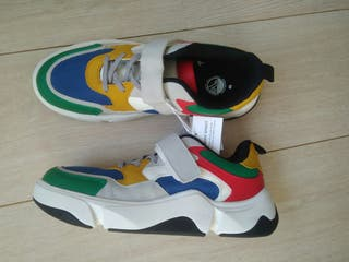 Zapatillas chic@ talla 40 Zara