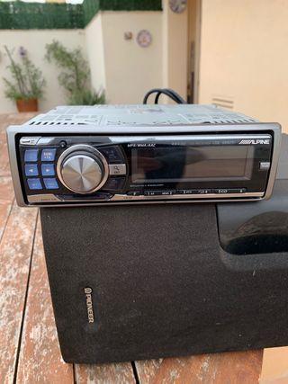 Radio CD coche ALPINE