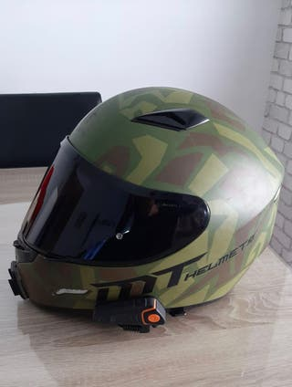 Casco integral Militar