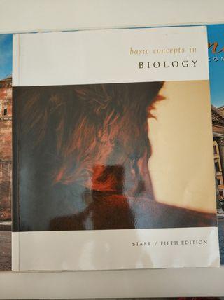"""Libro de inglés """" conceptos básicos de biología"""""""