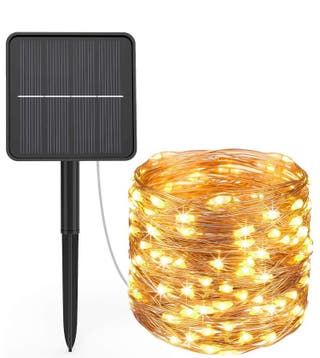 Luces 24m Solares Exterior Precintados