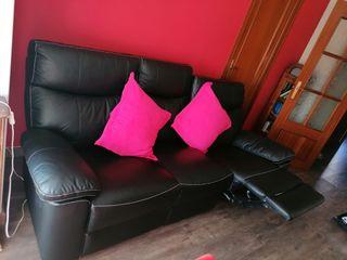 sofá de piel 3 plazas