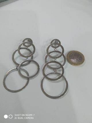 Pendientes en plata