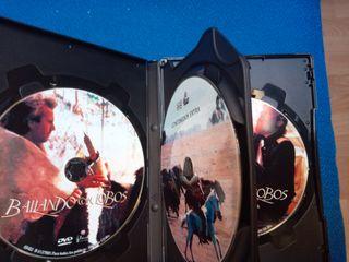Bailando con Lobos Edición Especial 3 Discos Dvd.