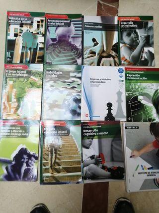 libros del grado superior de Educación Infantil