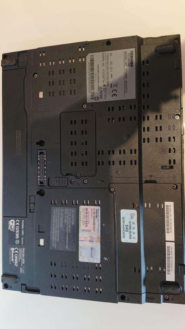 portatil profesional toshiba tecra rs232