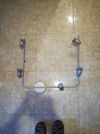 lámpara techo flexible