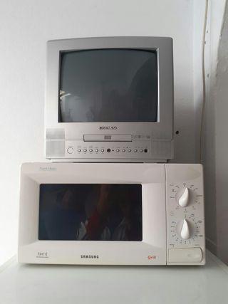 TV pequeño con vídeo incorporado 20/€