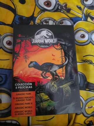 jurassic world pack 5 peliculas dvd