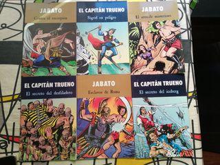 Tebeos Jabato y Capitán Trueno