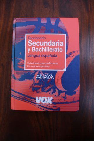 Diccionario y Bachillerato Lengua española ANAYA