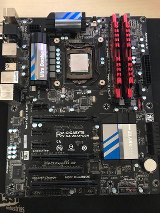 Intel I5 4670K + Placa + RAM
