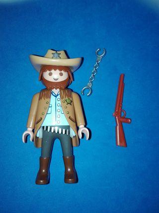 Numero 330 playmobil vaquero pistolero oeste