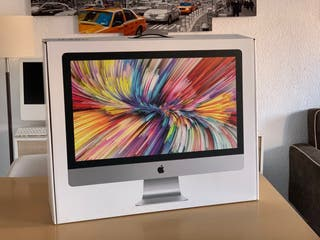 "Apple iMac 5k retina 27"" 2017 como nuevo"