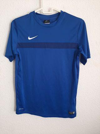 Nike dri-fit azul niño 13/15 años