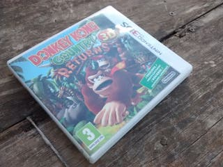 Donkey Kong Country returns 3D 3DS