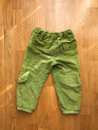 Pantalón para niñas verde