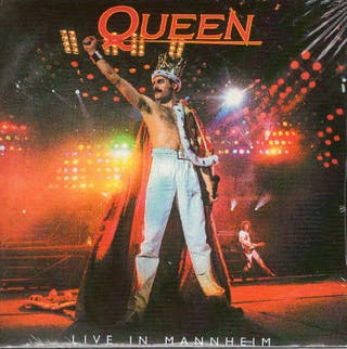 QUEEN - 2 CD - LIVE IN MANNHEIM - 1986