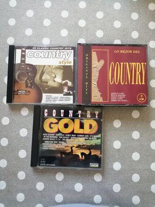 CDs de música country