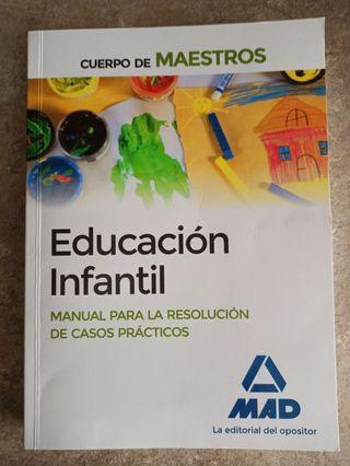 Libro Oposiciones Educación Infantil