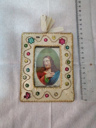cuadro religioso, estampa de Jesús