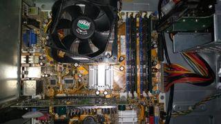 Placa base Asus IPI8L-L8 + Xeon E5420 + 8gb de ram