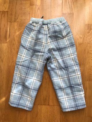 Pantalón niña azul
