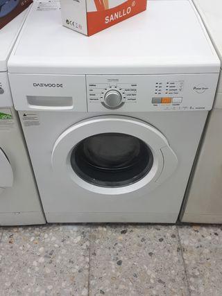 lavadora 6kg con garantía + entrega
