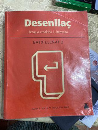 Libro catalán desenllaç 2n batxillerat