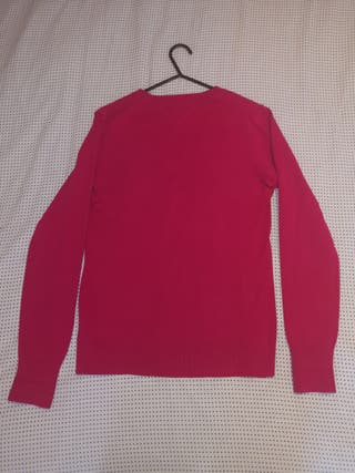 Tommy Hilfiger Small Logo Pink Sweater