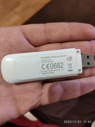ADAPTADOR MODEM HUAWEI E1550 HDSPA USB STICK