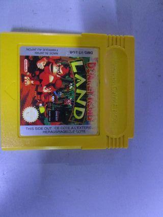 Juego Donkey Kong Land Nintendo Gameboy