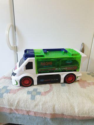 camión porta coches