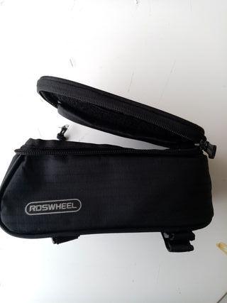Vendo bolso de cuadro de bicicleta Roswheel