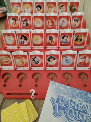 Juego Quién es quién? Edición Disney.Marca MB