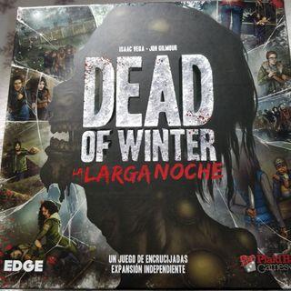 Dead of Winter la Larga Noche juego de mesa