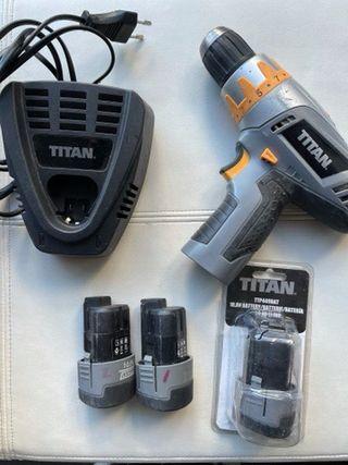 Taladro Titan parcialmente averiado