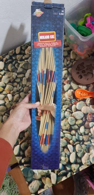 juego palitos chinos
