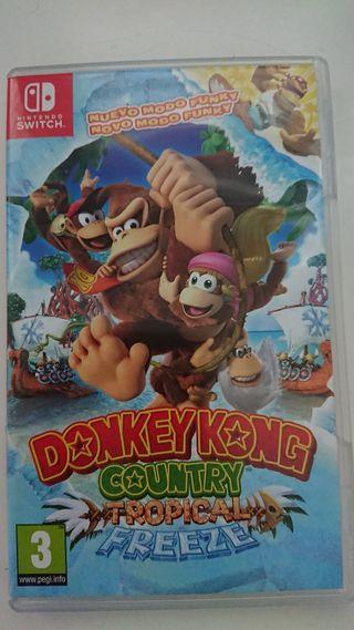 nintendo swich donkey kong
