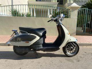 Aprilia Habana Company Custom 49cc