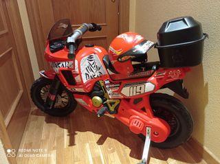 Moto eléctrica Dakar