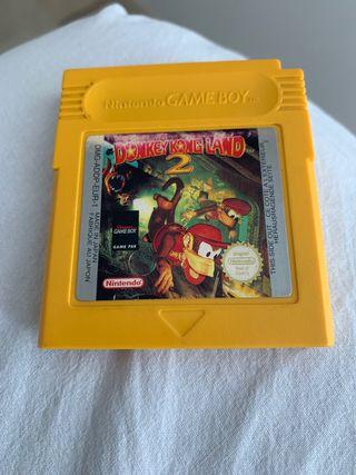 Game Boy DONKEY KONG LAND 2