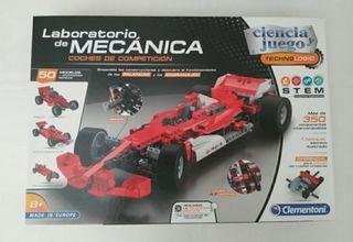juego clementoni de mecánica de coches juguete