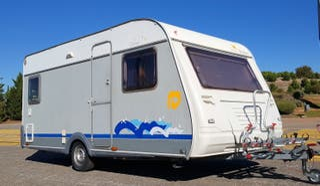 caravana sun roller queen 440 agua caliente