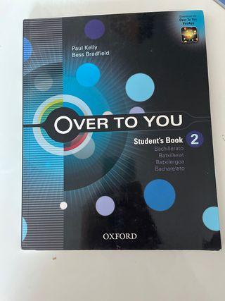 Libro inglés over to you oxford