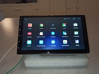 """Radio pantalla 7"""" Android para coche nueva."""