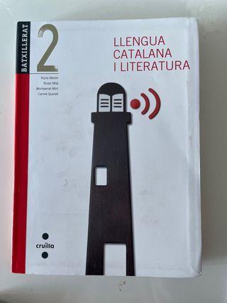 Libro lengua catalana segundo bachillerato