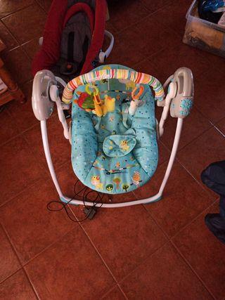 columpio eléctrico bebe