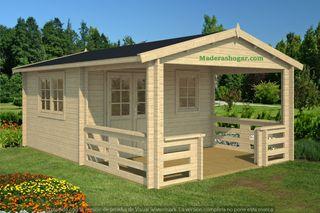 Estupenda casa de madera de jardin, Cabaña, casita